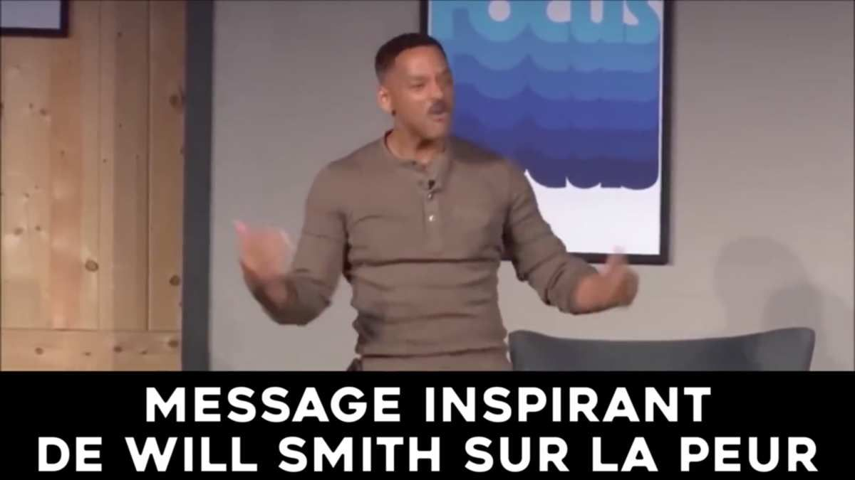 Une source d'optimisme : comment Will Smith a surmonté ses peurs