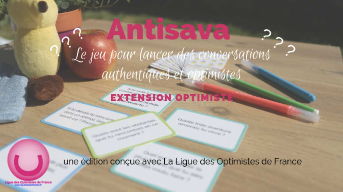 LANCEMENT DU JEU DE CARTES ANTISAVA DE LA LIGUE DES OPTIMISTES