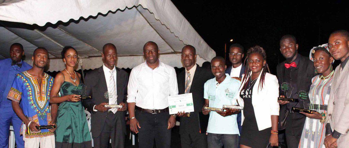 Les lauréats de l'African Startup Forum 2016