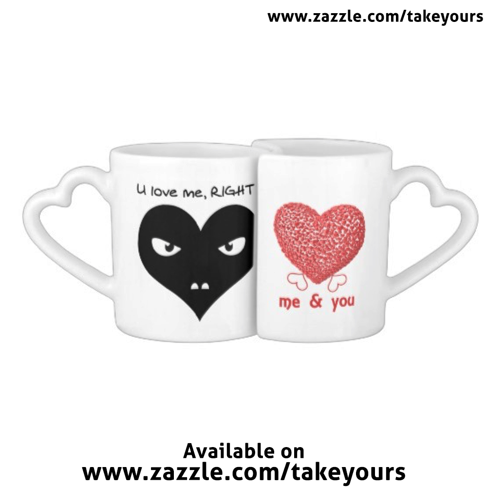 http://www.zazzle.com/twolove_coffee_mug_set-256291423020025123