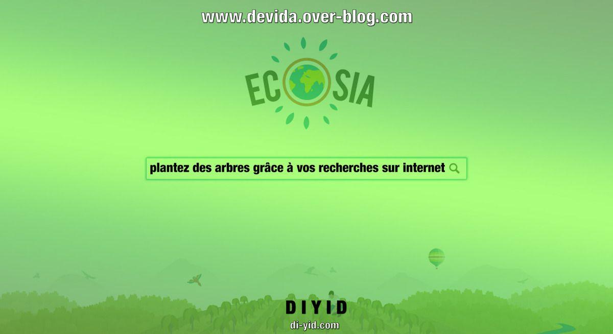 Ecosia: aidez à la plantation d'arbres