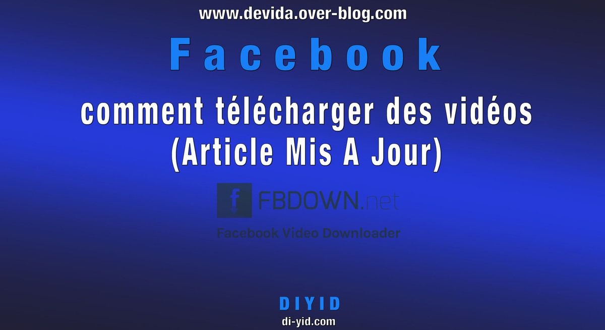 Facebook Telecharger Video