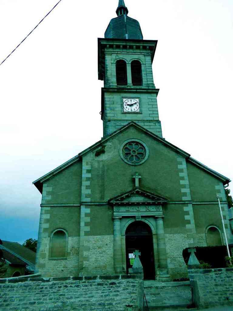 L'église,