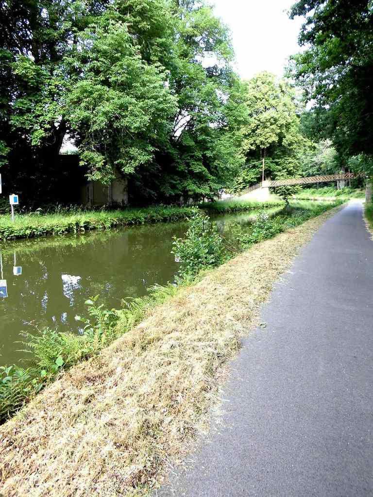 Les Bois de La Colosse, le canal