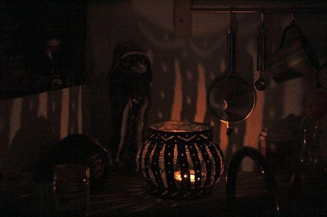 Aquarelle et lanternes magiques.
