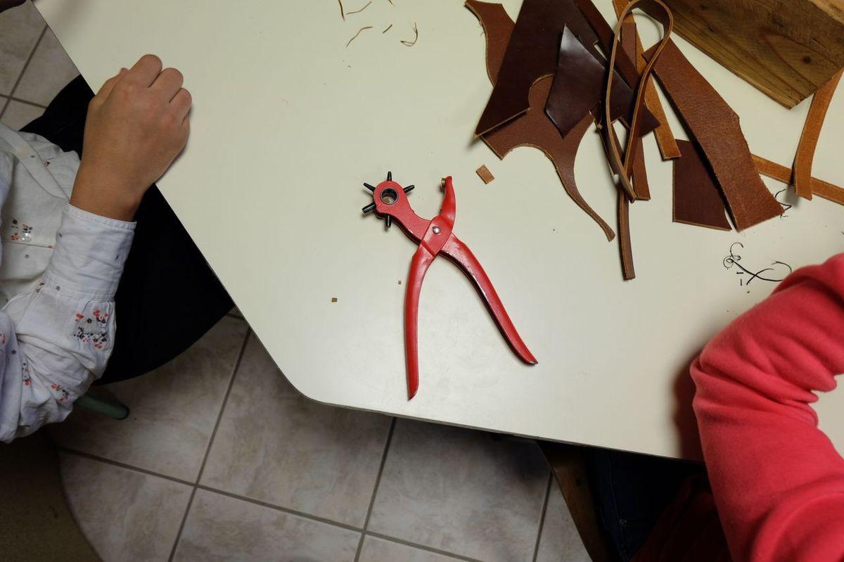 Fabrication de bourses et de bracelets