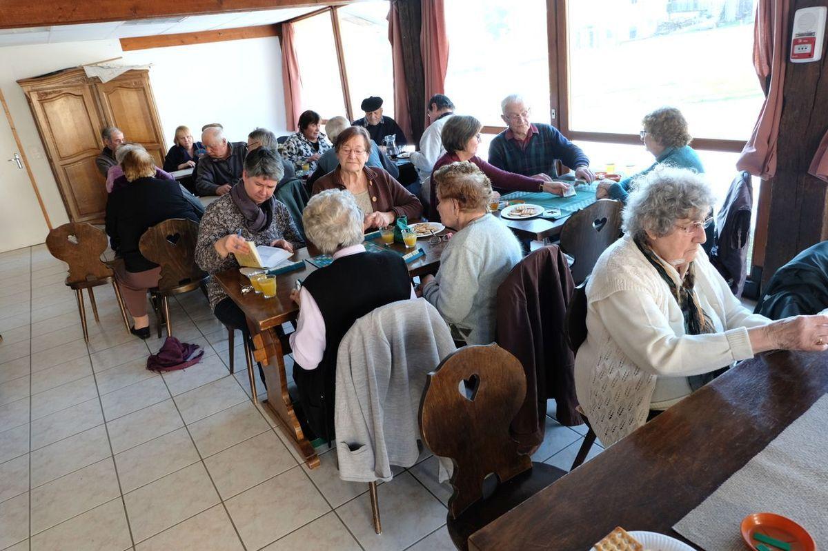 Un après-midi au Club du Pont des Fées
