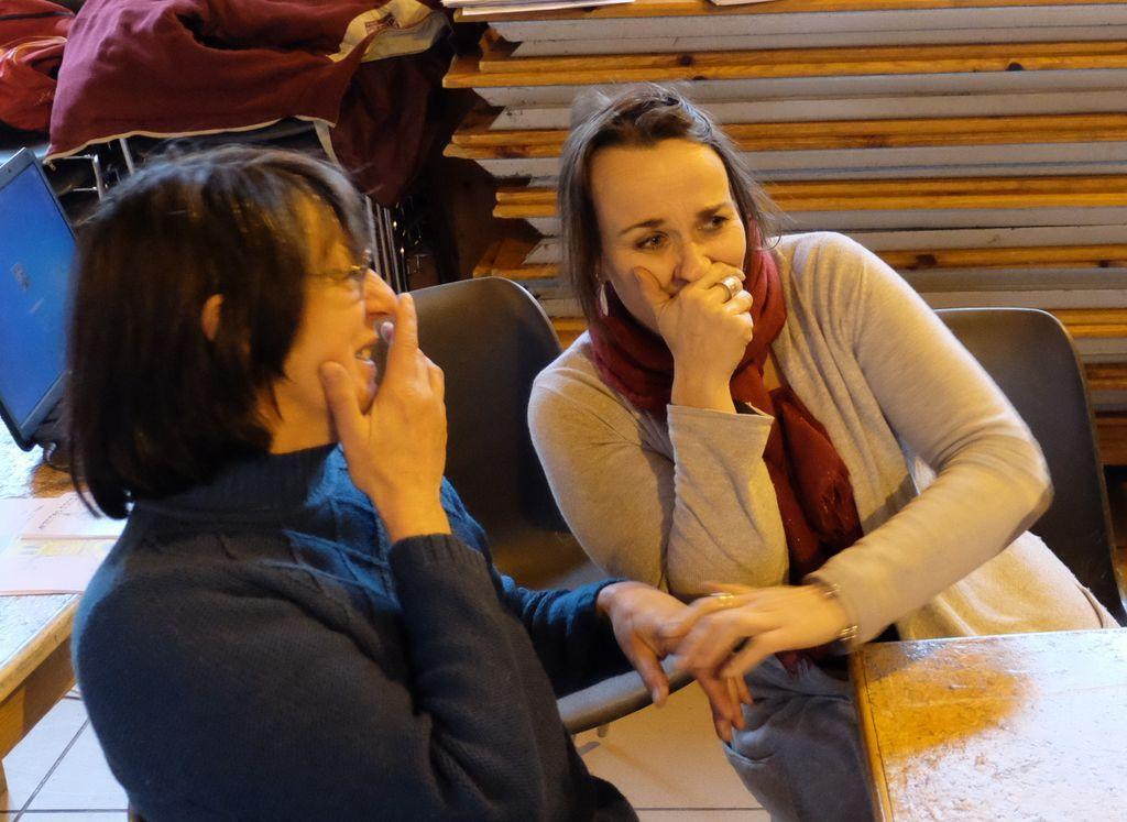 Atelier théâtre travail sur les expressions