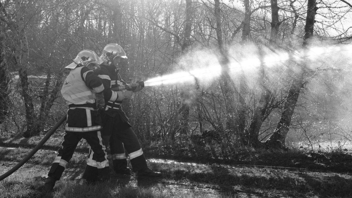 Incendie à La Basse du Pommier