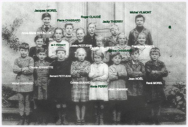 Questions sur une photo de classe