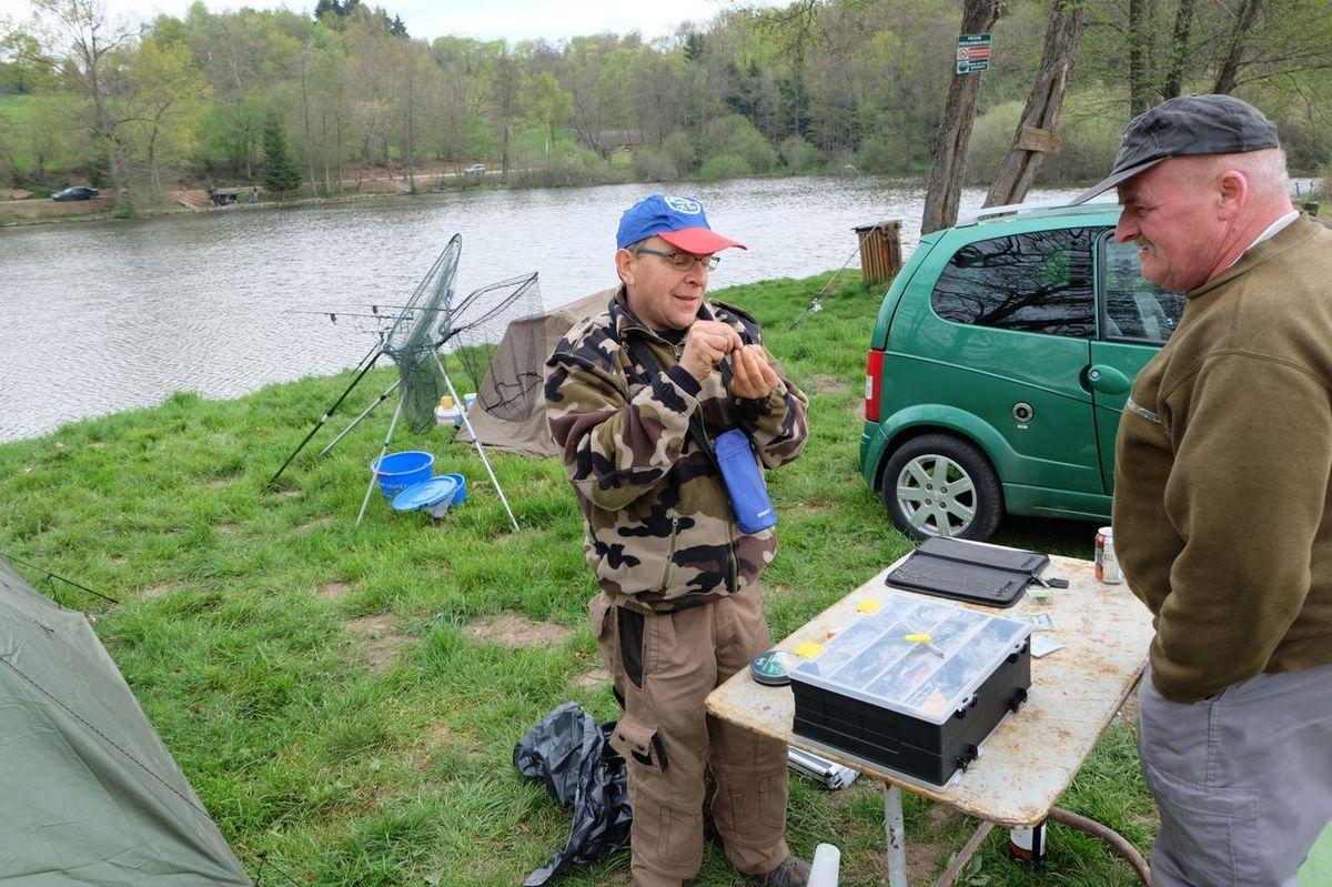 Enduro de pêche à l'Etang Lallemand