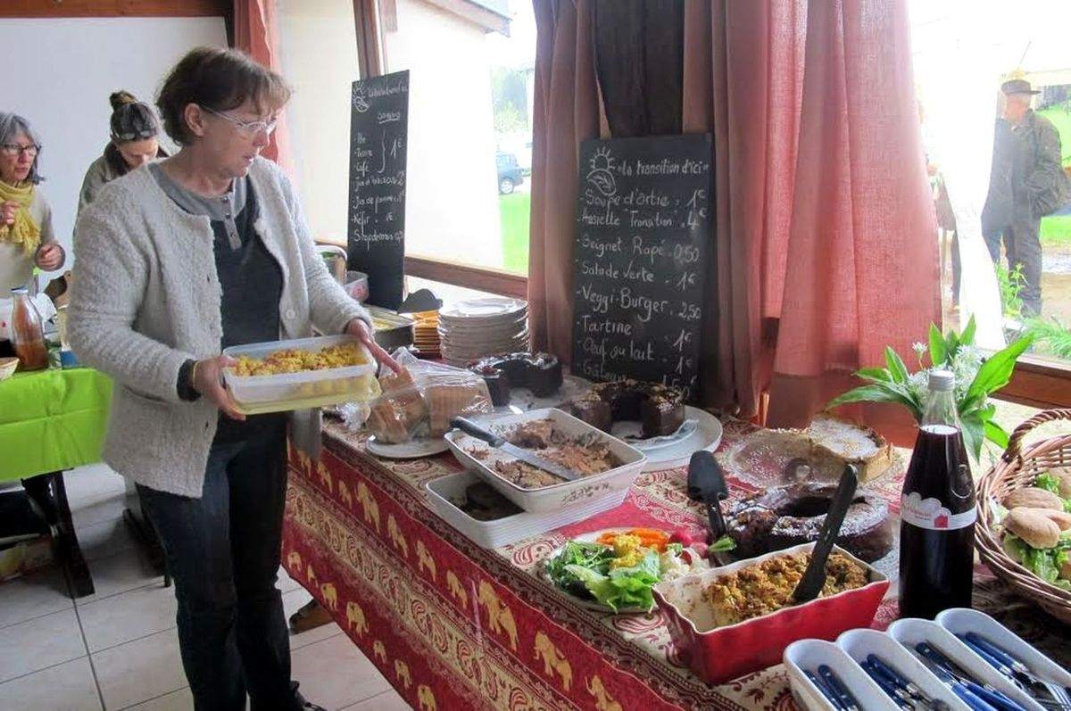 Pacale organise le buffet