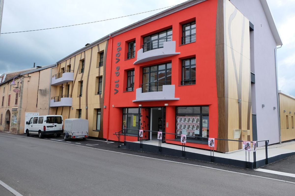 Maison communautaire et médiathèque du Val de Vôge