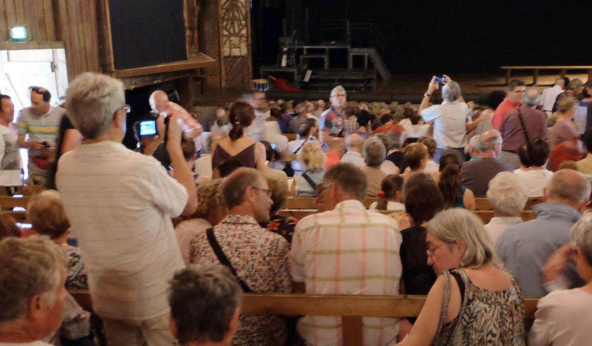 L'atelier théâtre à Bussang
