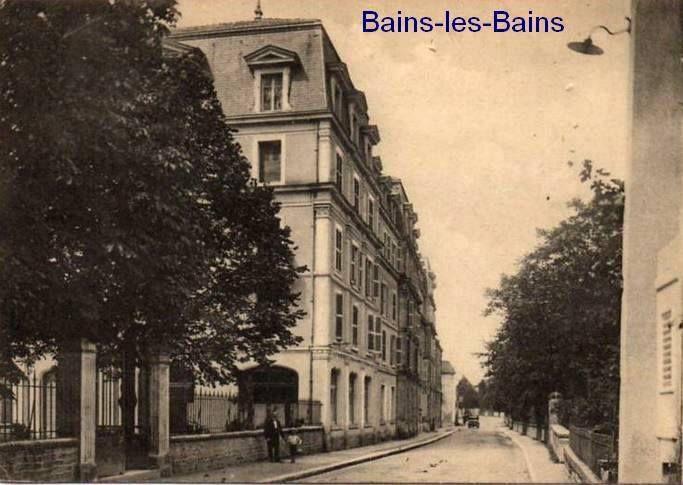 Vues sur la page Facebook : Les Vosges dans le passé = quelques localités