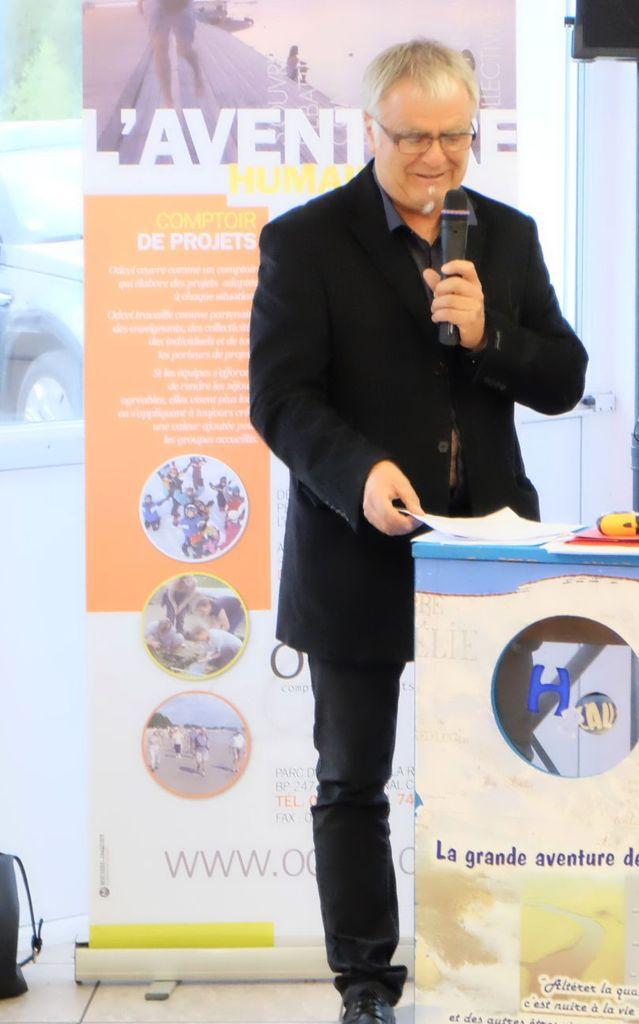 Thierry Husson est président du conseil d'administration de l'entreprise Odcvl