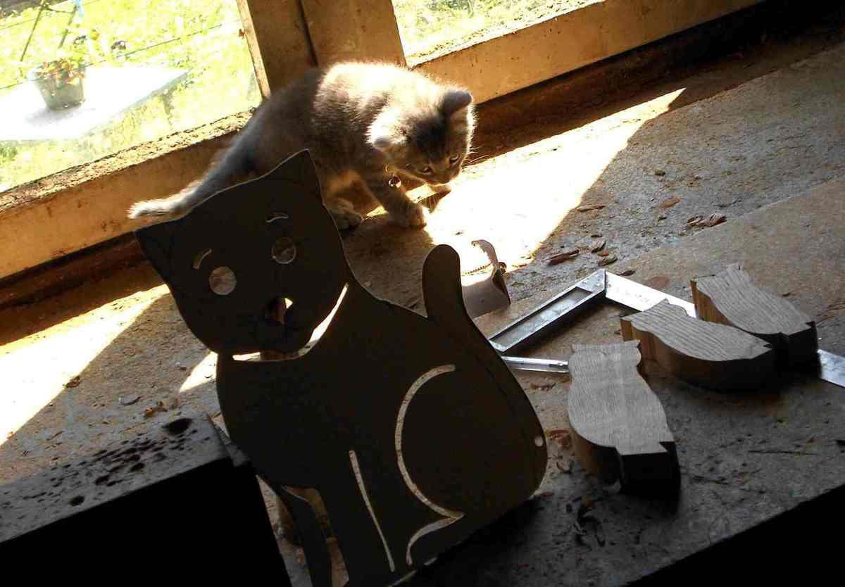 Un sculpteur sur bois