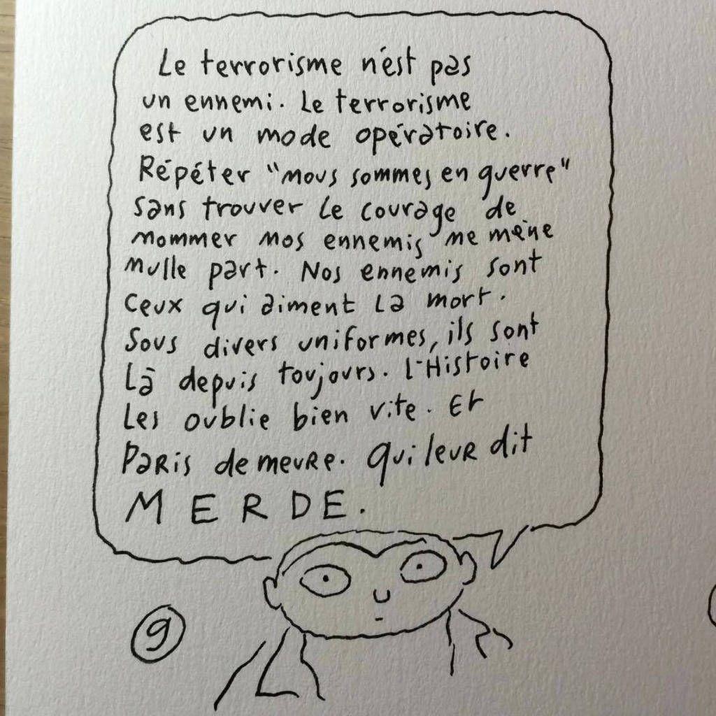 Les dessinateurs rendent hommage aux victimes