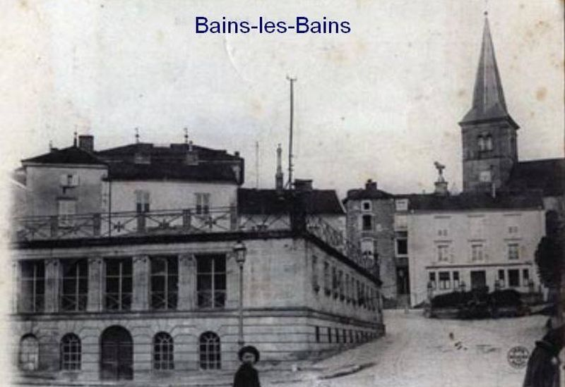 Cartes postales de Bains les Bains