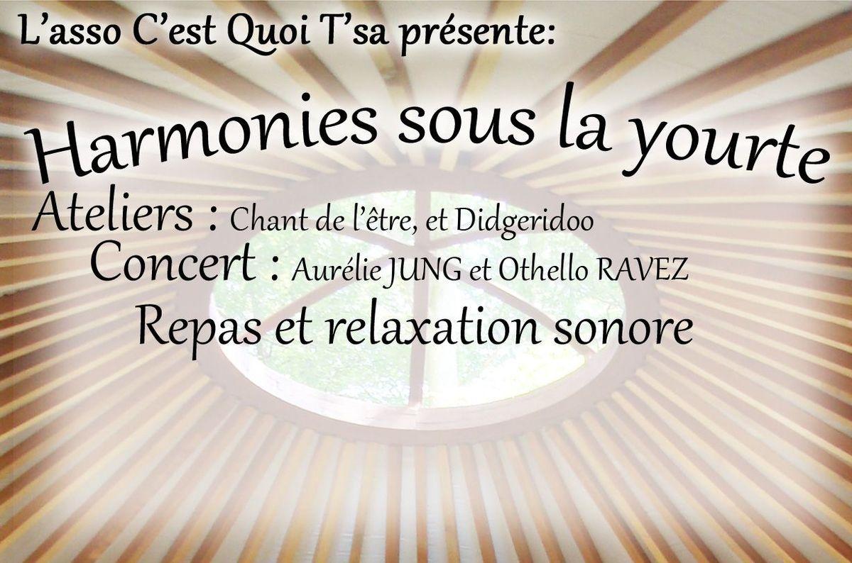 Harmonies sous la yourte