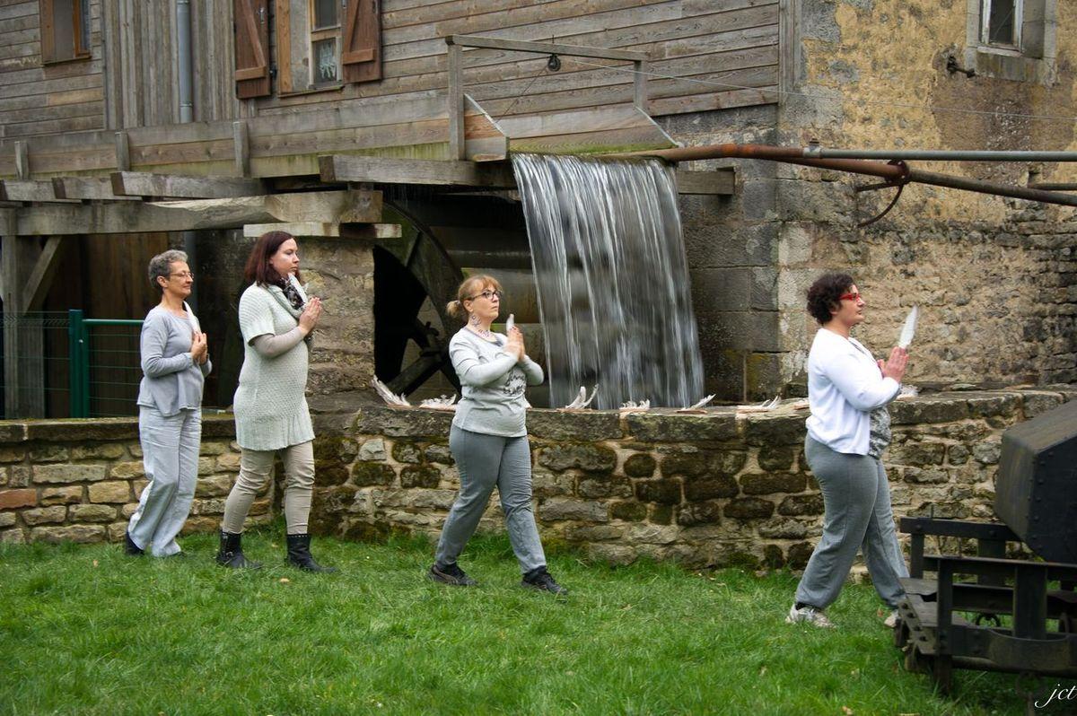 Ecriture et danse au Moulin Gentrey