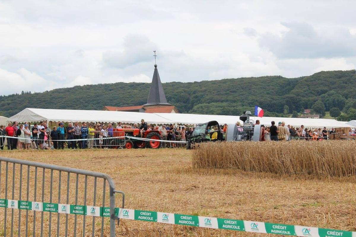 La Fête de la Moisson à La Chapelle aux Bois
