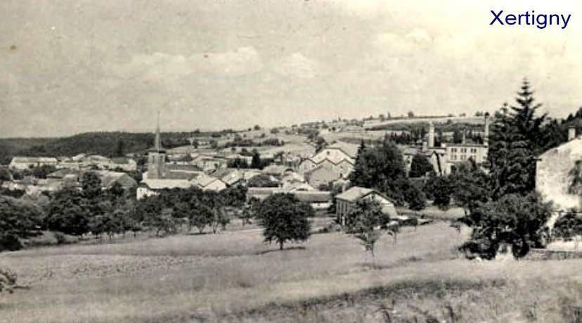 Xertigny autrefois