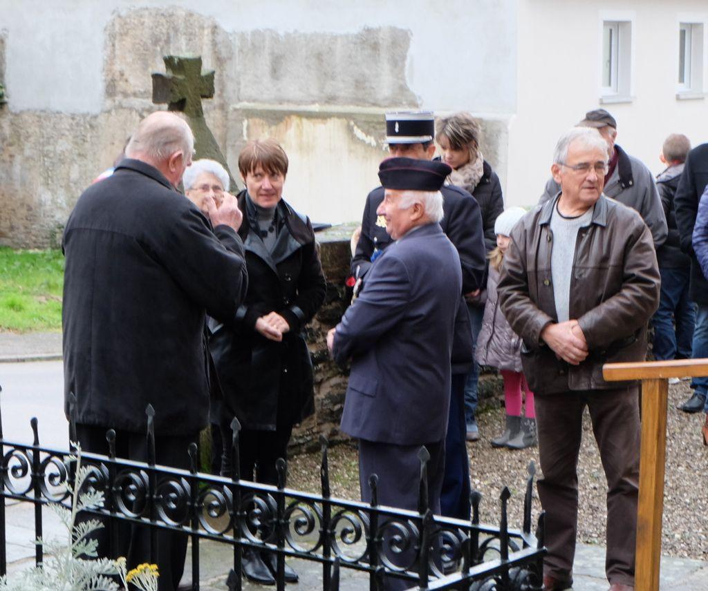 Commémoration du 11 novembre 2016 à Les Voivres