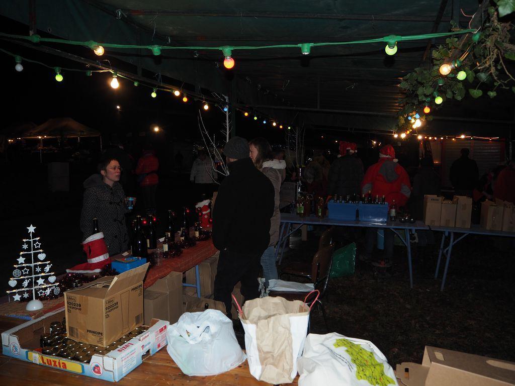 Il était le Marché de Noël à Les Voivres