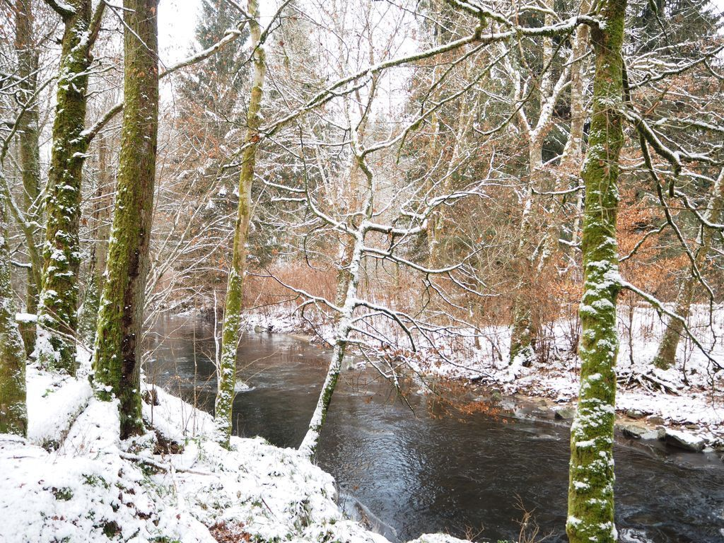 La Colause sous la neige