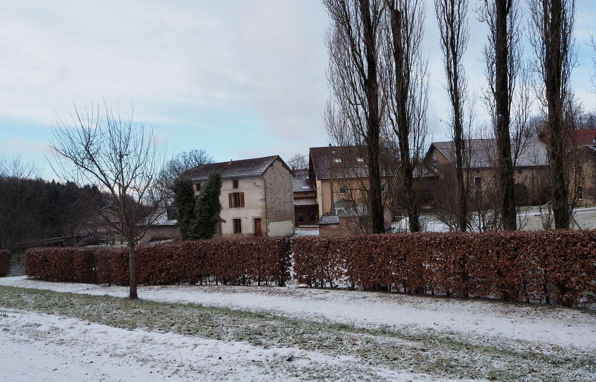 Le Village après une averse de neige