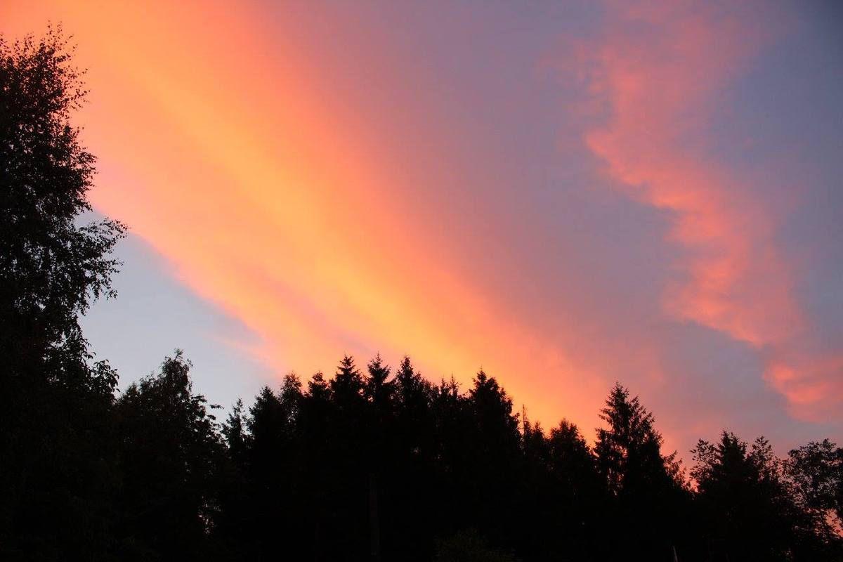 Lever de soleil. Photo Sylvia von Kaenel