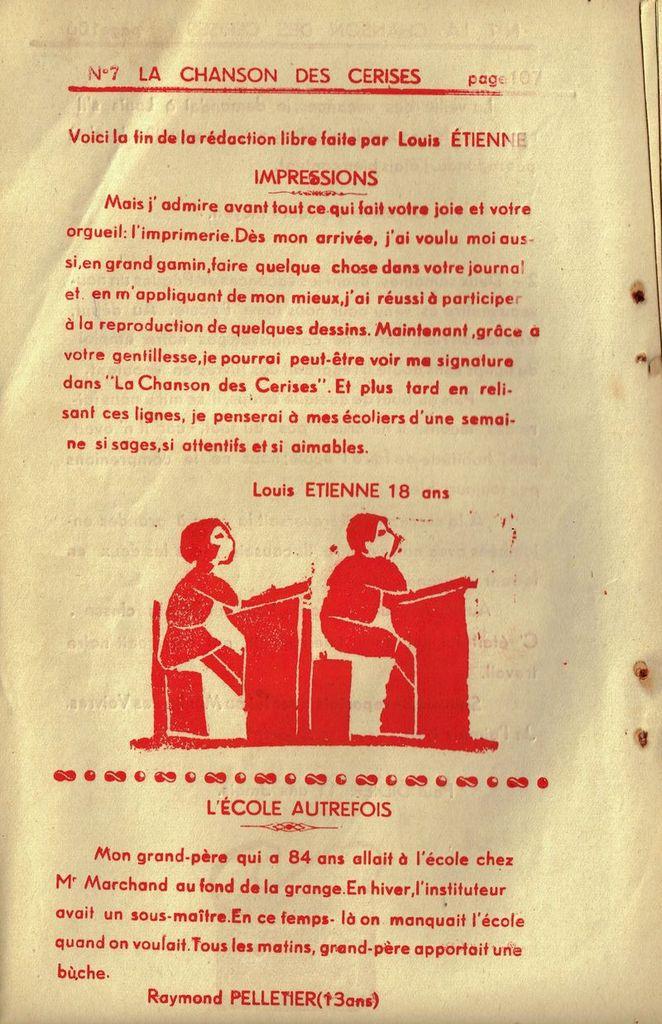 Décès de Mr Henry-Louis Etienne