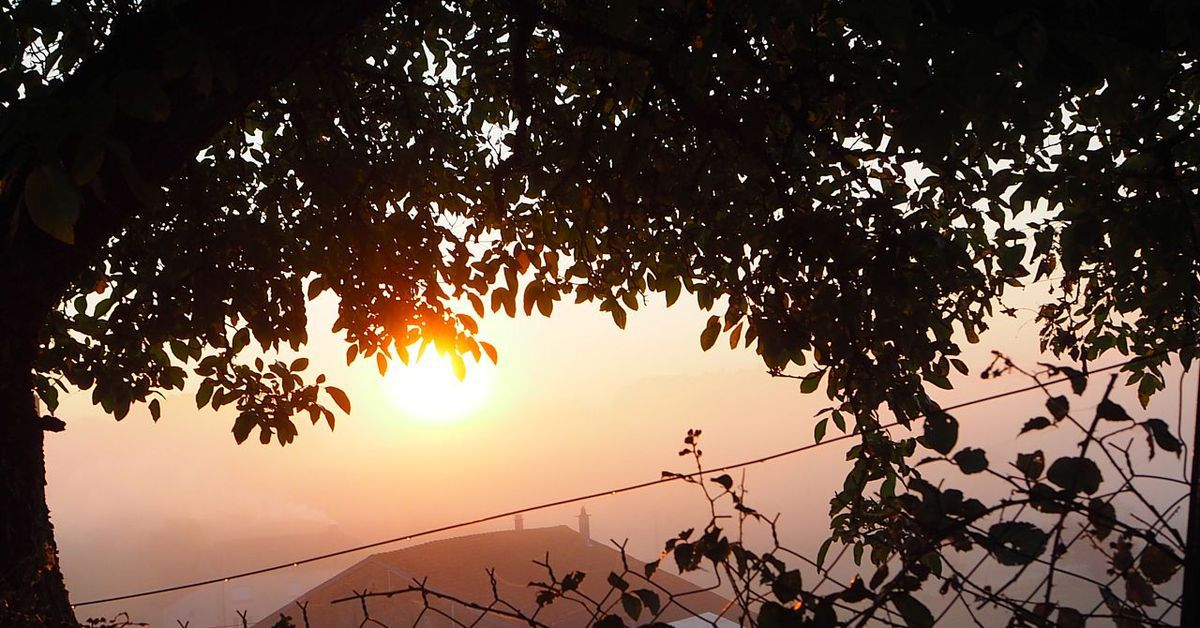 Lever de soleil à la Chapelle de Bonne Espérance