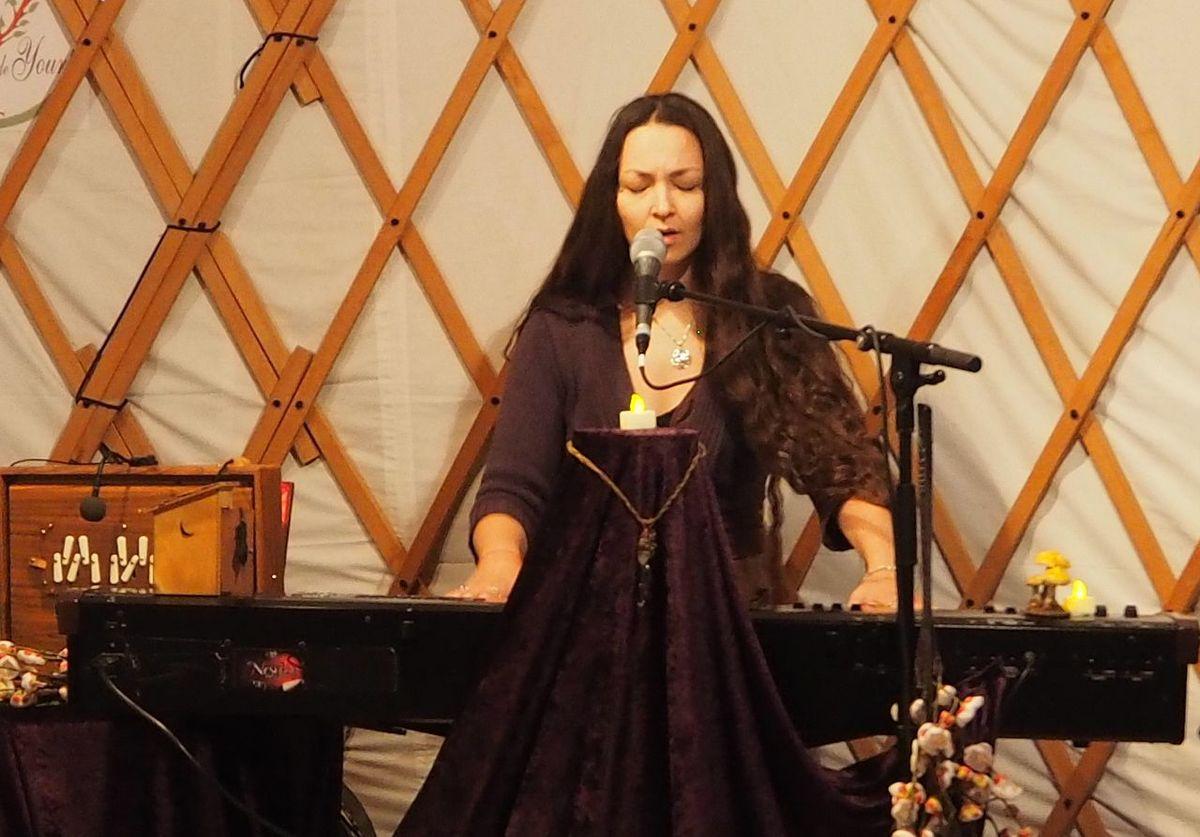 Concert sous la yourte