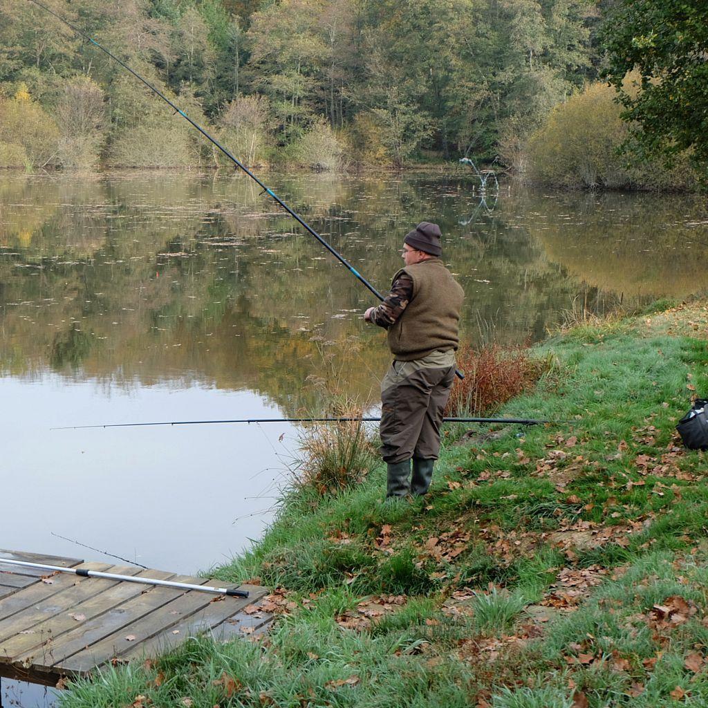 Concours de pêche aux carnassiers à L'Etang Lallemand