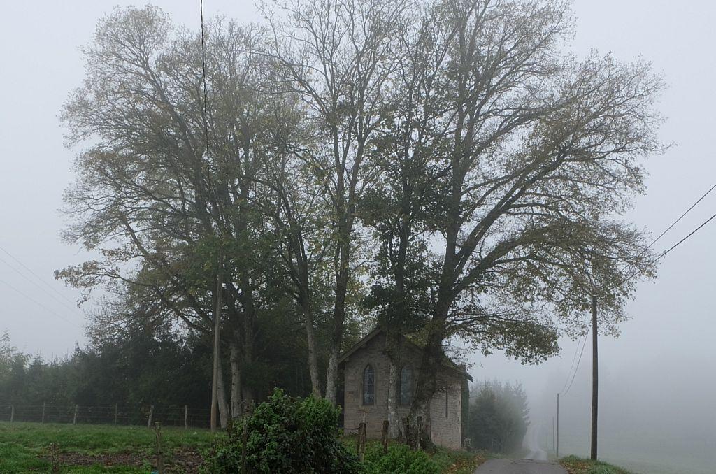 Brouillards à La Chapelle de Bonne Espérance