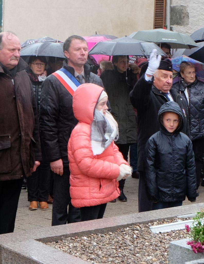 Commémoration du 11 novembre à La Chapelle aux Bois