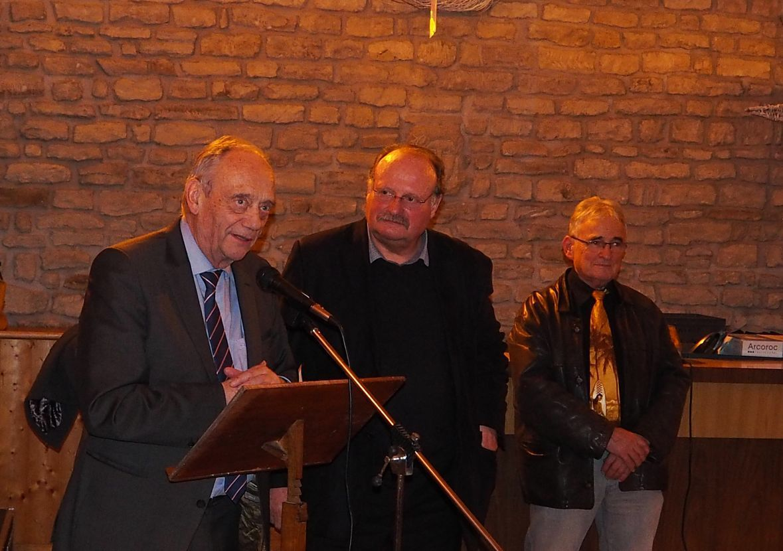 Les Voeux de Michel Fournier, maire de Les Voivres