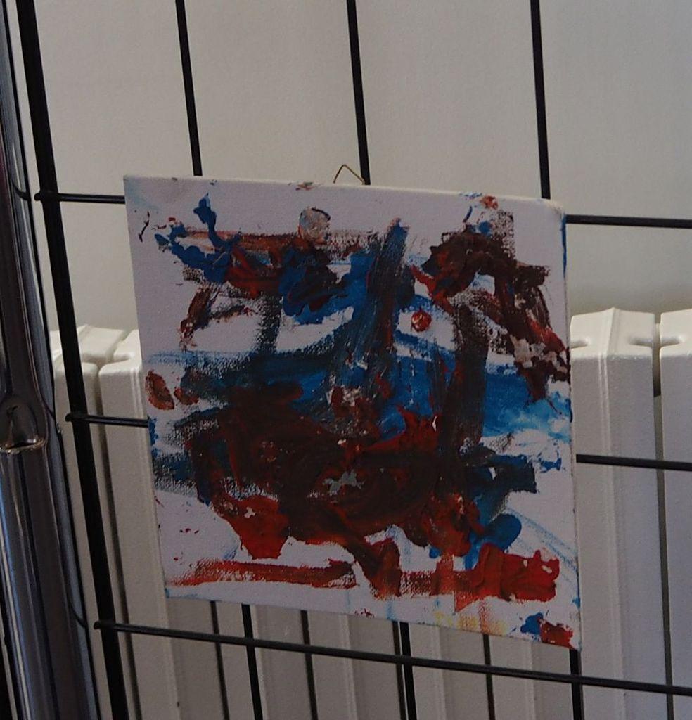 Exposition des enfants de l'IME à la médiathéque de la Haye