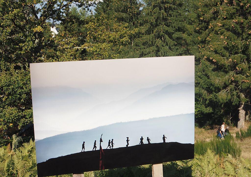 L'association D'Ici et d'Ailleurs se rend aux Sentiers de la Photo du Haut du Tot