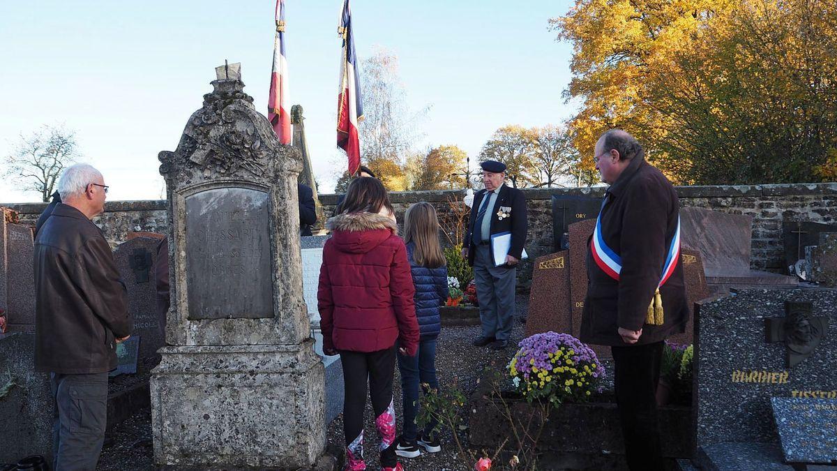 Les soldats morts pour la France de Les Voivres ne sont pas oubliés