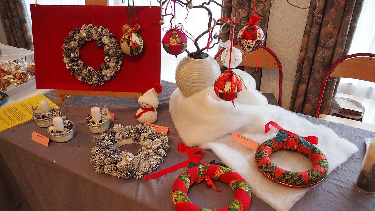Marché de Noël de Gruey les Surance