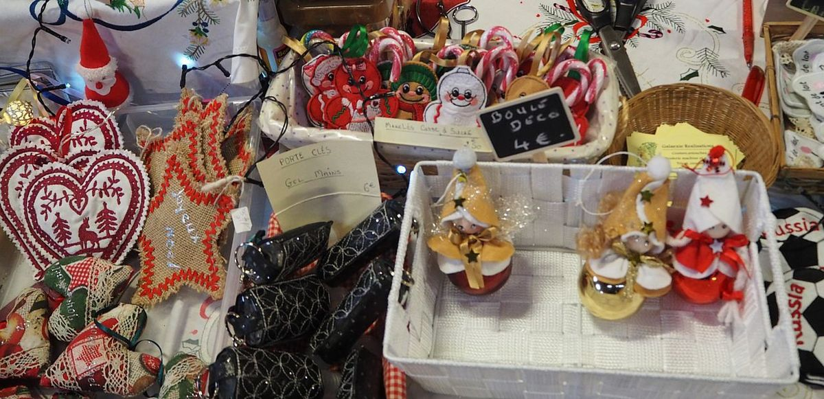 Marché de Noël à Les Voivres