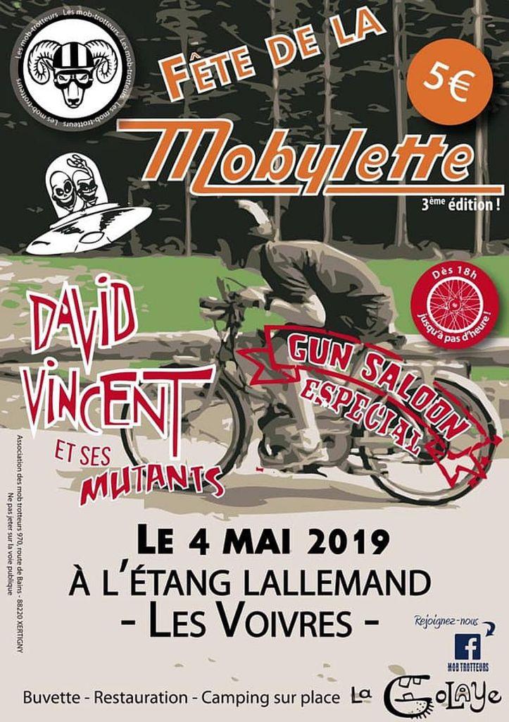 Samedi 4 mai 2019 à 18:00- Etang Lallemand- Les Voivres