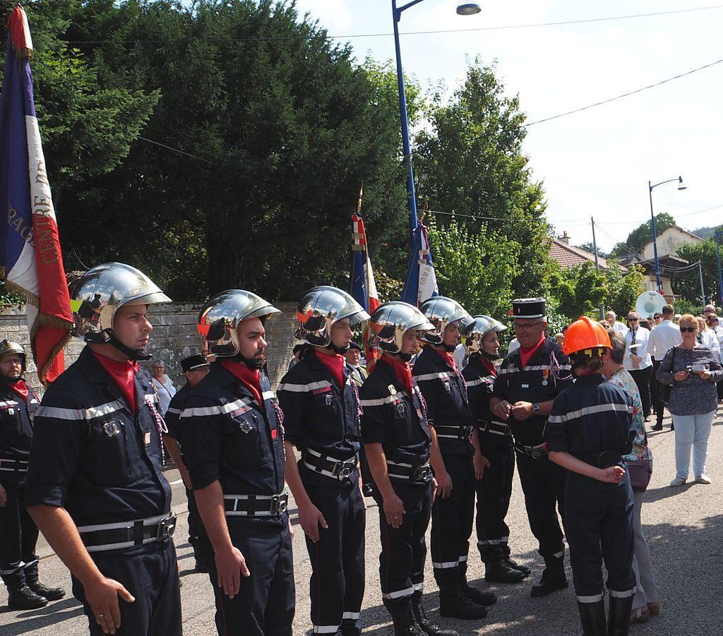 Défilé du 14 juillet à La Vôge les Bains
