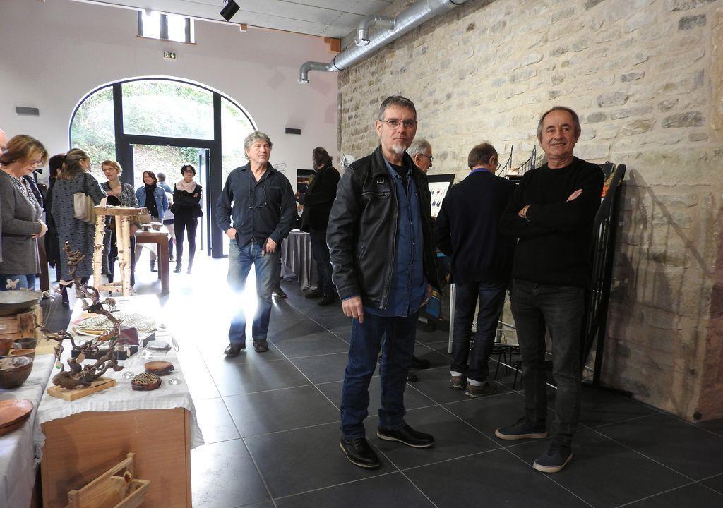 Inauguration de l'atelier partagé La Voûte
