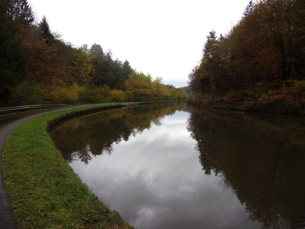 Au bord du canal des Vosges