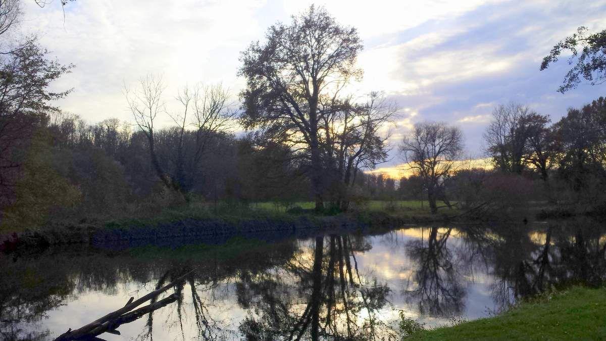 L'Ognon à Villersexel - Photo Evelyne