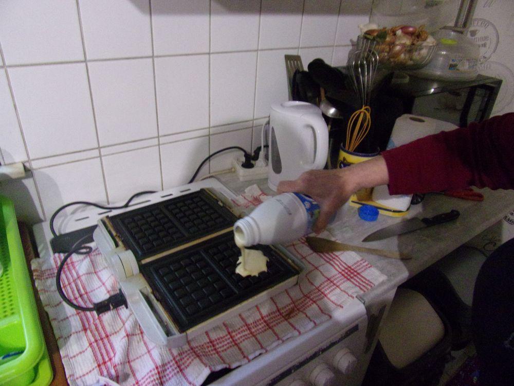 Pâte à gaufres : la préparation